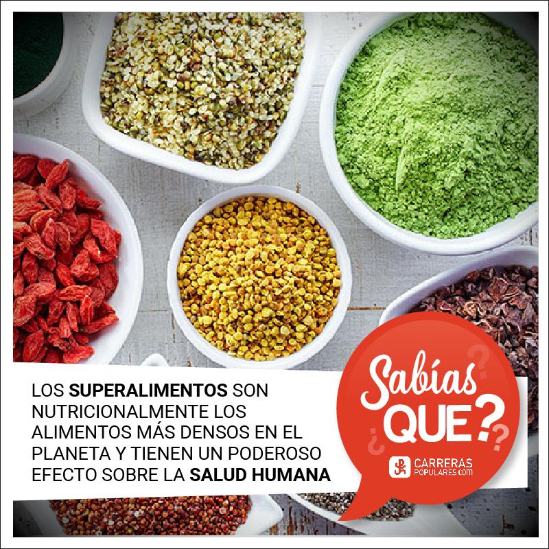 Los superalimentos son nutricionalmente los alimentos más densos del planeta y tienen un poderoso efecto sobre la salud humana.